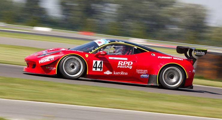Modern Racing Cars